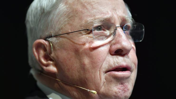 Erhält sein Geld nachträglich doch nicht: Alt Bundesrat Christoph Blocher