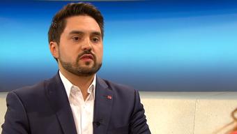 """Cédric Wermuth polterte in der Rundschau gegen die """"kaltherzige Schweizer Asylpolitik""""."""
