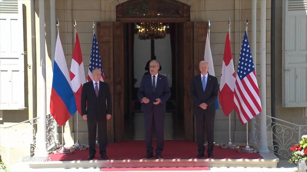 Gipfeltreffen in Genf: Bundespräsident Parmelin erntet Lob von allen Seiten