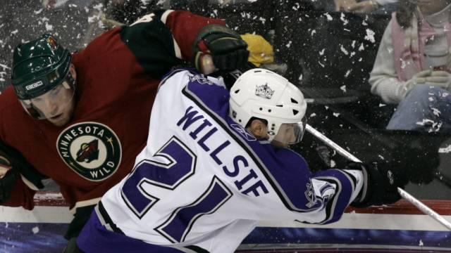 Brian Willsie in seiner NHL-Zeit in Aktion
