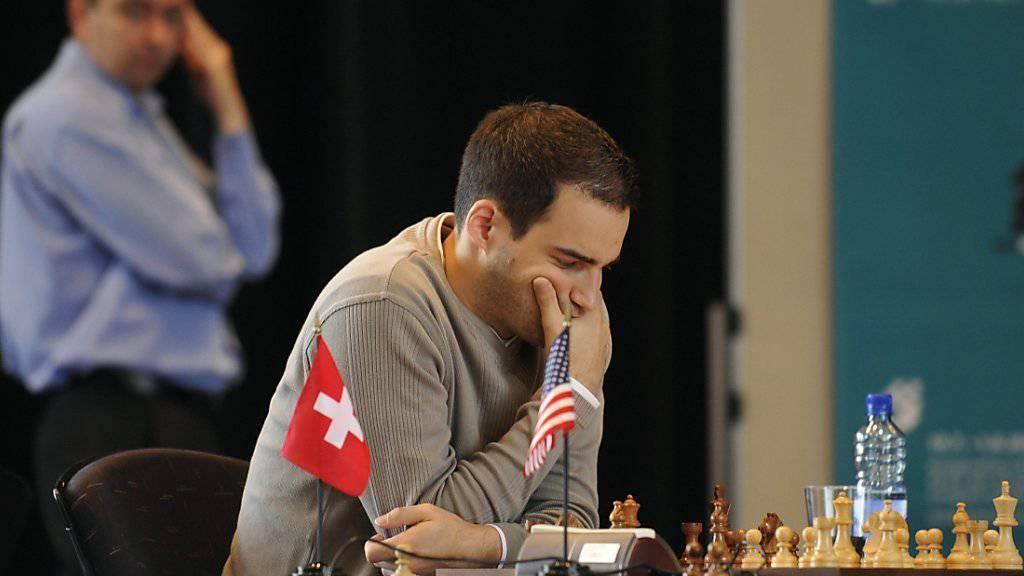 Yannick Pelletier an einem Turnier in Biel (Archivbild)