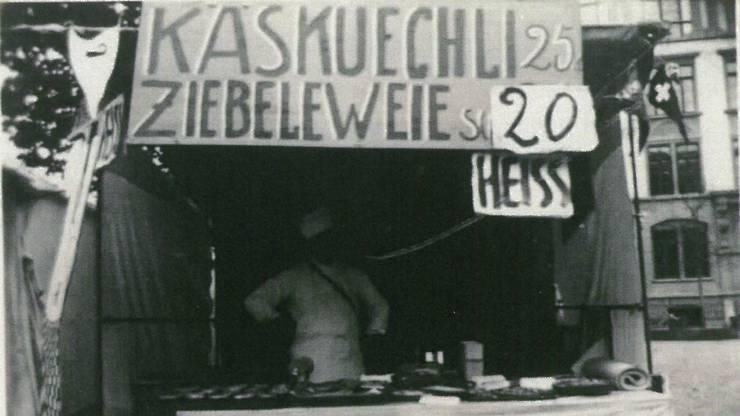 In den 40er-Jahren kosteten die Käskiechli an der Herbstmesse noch 25 Rappen.