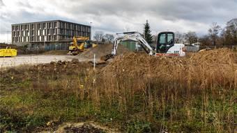 Am Verhältnis der Stadt zur SWG (hier das neue Hauptsitzgebäude) wird zurzeit herumlaboriert. Hanspeter Bärtschi