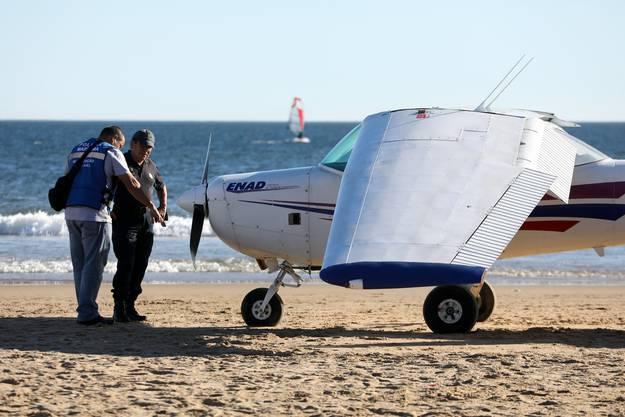 Die beiden Piloten blieben unverletzt.
