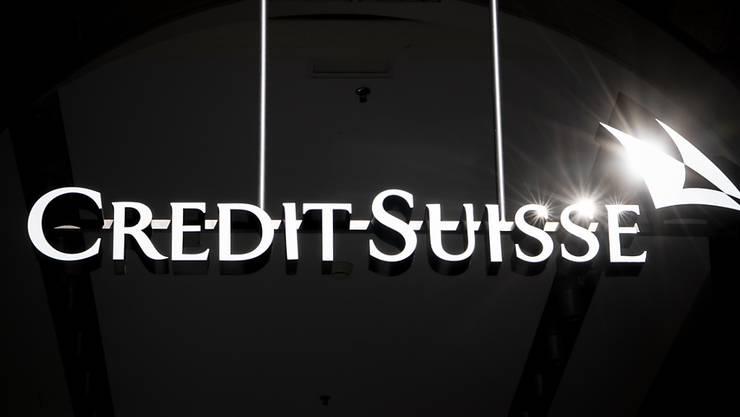 Der Credit Suisse droht Rechtsärger in den USA. Dem Schweizer Geldhaus und neun weiteren Grossbanken wird vorgeworfen, beim Handel von Unternehmensanleihen jahrelang zu hohe Preise verlangt zu haben. (Archiv)