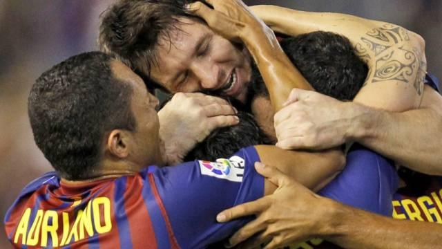 Barça bejubelt Fabregas' Ausgleich