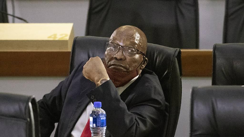 Südafrikas Ex-Präsident Zuma sieht Leben durch Haftstrafe bedroht