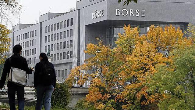 Schweizer Börse mit Verlusten