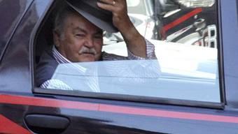 Ein Mafia-Buss wird verhaftet (Archiv)