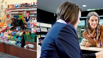 Der Avec-Shop in Muttenz wird auch zum Ticketschalter umfunktioniert