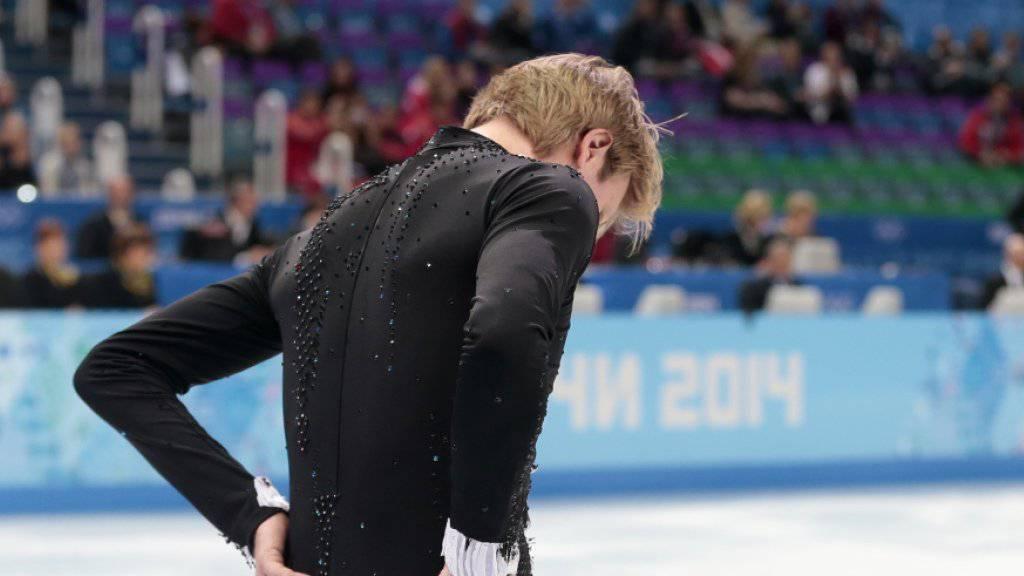 Jewgeni Pluschenkos Gesundheit ist angeschlagen