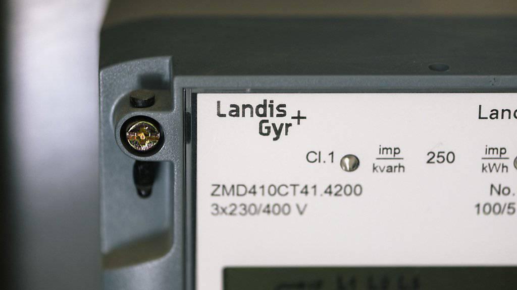 Der Traditionskonzern Landis+Gyr konnte sich von April bis September in die schwarzen Zahlen retten. (Archiv).