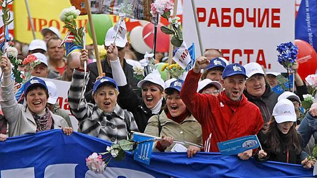 Zehntausende demonstrieren in Moskau