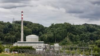 Blick auf das von der BKW betriebene AKW Mühleberg (Archiv).