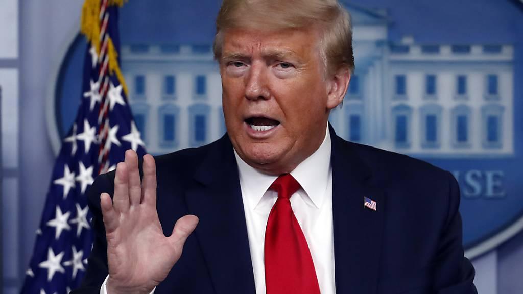 Trump würde USA am liebsten mit «grossem Knall» wieder öffnen