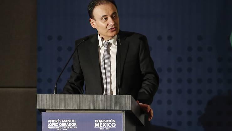 Er war jung und brauchte das Geld: Der mexikanische Minister für öffentliche Sicherheit, Alfonso Durazo, hat in den USA illegal gearbeitet. (Archivbild)
