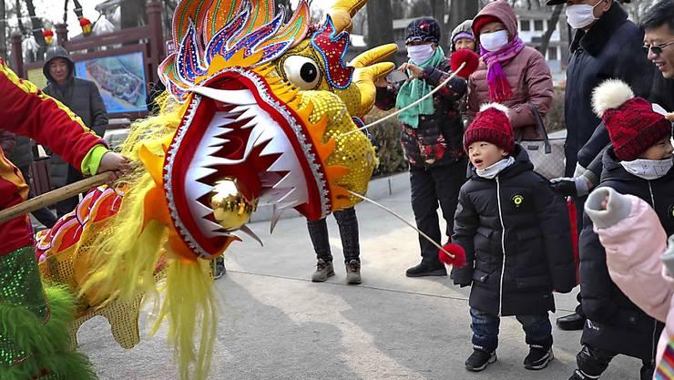 Der chinesische Konsum ist zum Neujahrsfest schwächer gewachsen als im Vorjahr. (Archiv)