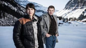 """Das """"Wilder""""-Ermittlerduo Rosa Wilder (Sarah Spale) und Manfred Kägi (Marcus Signer)."""