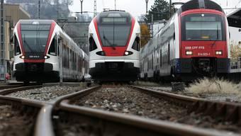 Statt Ausbau droht dem Regionalverkehr Abbau: Drei neue Regionalzüge in Lenzburg: Volle Kraft voraus oder zurück ins Depot? Patrick Luethy/EQ Images