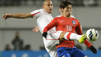 Die Schweizer nati testet in Seoul gegen Südkorea