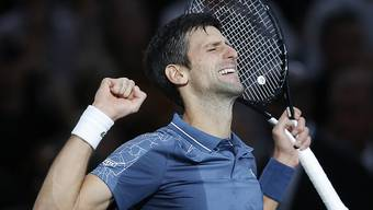 Novak Djokovic musste sich durchkämpfen