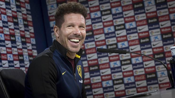 Diego Simeone will nun doch bis 2020 Trainer von Atlético Madrid bleiben