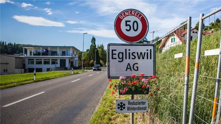 Die Egliswiler lancierten seit langer Zeit wieder eine kommunale Volksinitiative ein.