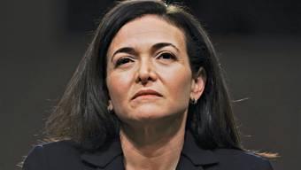 Beträchtliche Fallhöhe: Facebook-Topmanagerin Sheryl Sandberg, 49 Jahre alt.