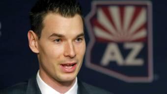 Der 26-jährige John Chayka heisst der neue General Manager der Arizona Coyotes