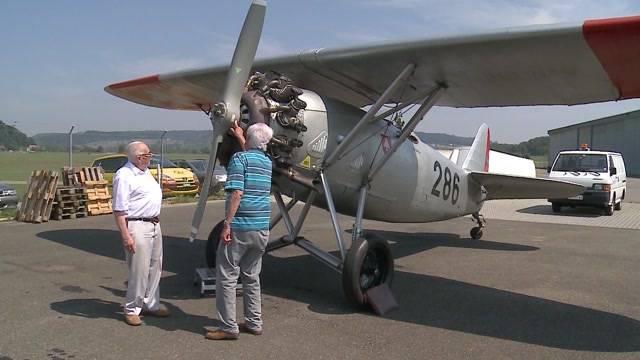 75 Jahre Flugschule Birrfeld: Sie waren die Piloten der ersten Stunde.