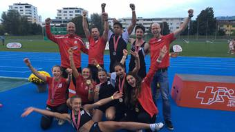 Gold für die U-20 der Frauen in der Olympischen Staffel und Silber für die 4x400m Mixed-Staffel.