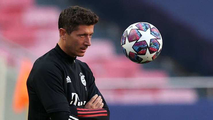 Robert Lewandowski will in den Halbfinal.