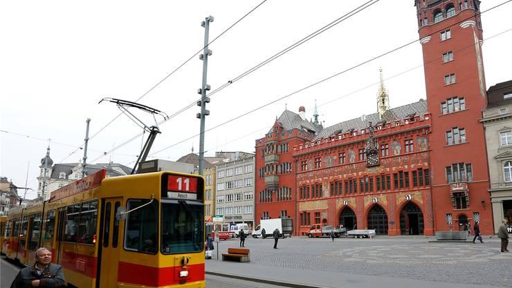 Der Tenor: Das gelbe Tram soll zum Kanton Basel gehören – und das Rathaus soll dessen Zentrum werden.Kenneth Nars