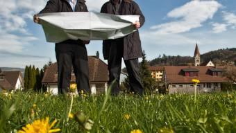 Für Landeinzonungen wird im Kanton Aargau am 1. Mai 2017 eine Abgabe fällig. (Symbolbild)