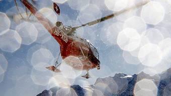 Ein Helikopter der Air-Glaciers (Symbolbild)