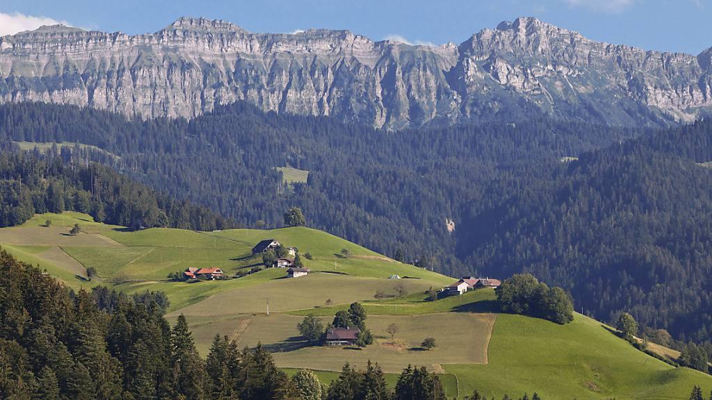 Das «Hohgant»-Massiv aufgenommen aus Röthenbach im Kanton Bern. (Archivbild)