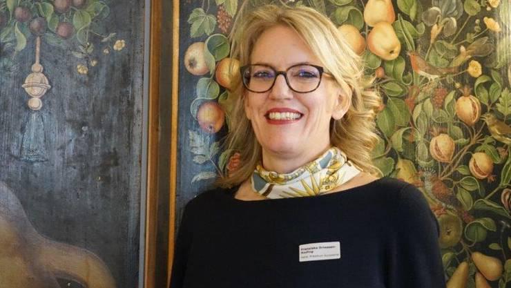 Die neu gewählte Präsidentin Franziska Driessen-Reding.