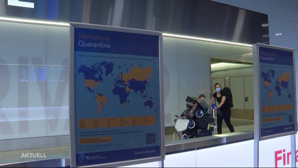 Aargauer Risikoländer-Statistik: In Quarantäne sind fast nur Einreisende aus dem Balkan