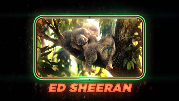 Ed Sheeran als Koala