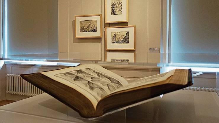 Blick ins Museum Caspar Wolf: Es gibt zwei neue Leihgaben.