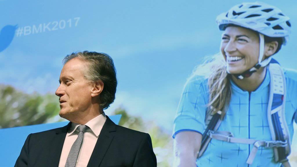 Die letzte Bilanzmedienkonferenz war seine letzte: Herbert Bolliger verlässt die Migros und zählt damit zu den prominentesten Abgängern der Wirtschaftsbühne 2017. (Archiv)