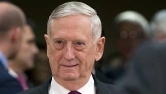 Der scheidende US-Verteidigungsminister James Mattis hat laut einem Medienbericht den Befehl zum Truppenrückzug aus Syrien unterzeichnet. (Archivbild)
