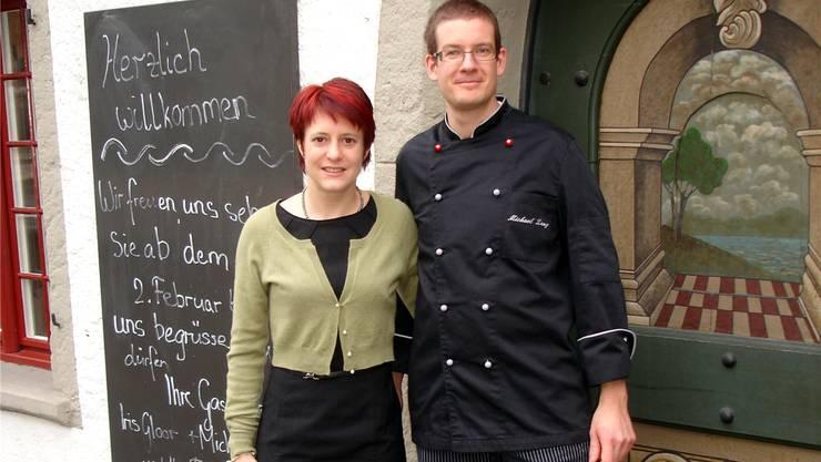 Iris Gloor und Michael Lang, die neuen Gastgeber im «Landgericht». tf