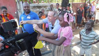 Peter Löhmann in Haiti