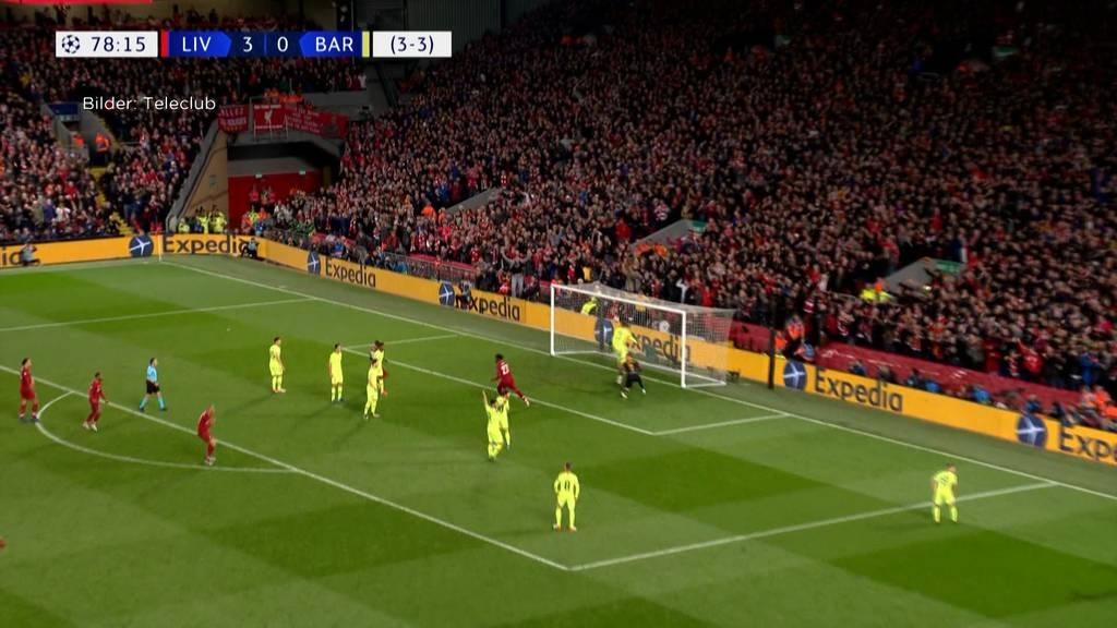 FC Liverpool nach spektakulärem Tor im CL-Finale