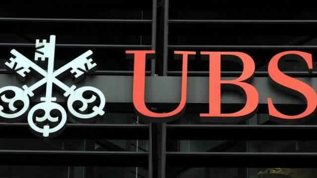 Eine Filiale der UBS in London