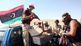 Libysche Rebellen bereiten sich auf Kämpfe vor