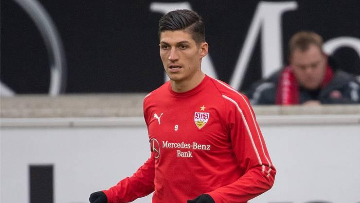 Spielt leihweise neu für den VFB Stuttgart: Steven Zuber.