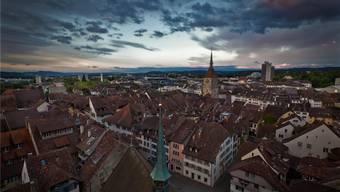 Das Stadtzentrum von Aarau (Themenbild)