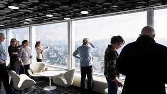 Seit Anfang Februar können die Anwohner das neue Roche-Hochhaus besichtigen
